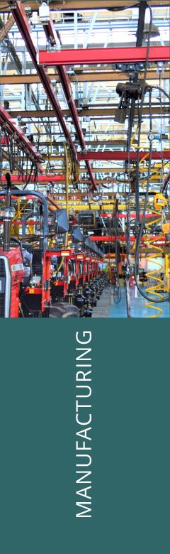 Manufacturing Industry Energy Savings | Energy Drive